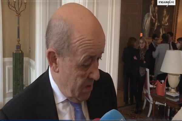 وزیر خارجه فرانسه به ترامپ هشدار داد