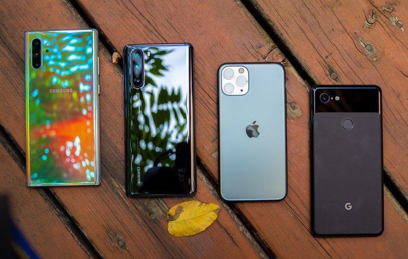 تداوم صدرنشینی سامسونگ در فروش گوشی های هوشمند؛ هواوی و اپل در رده های دوم و سوم