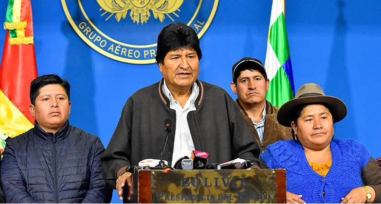 کودتای نرم و خلأ قدرت در بولیوی
