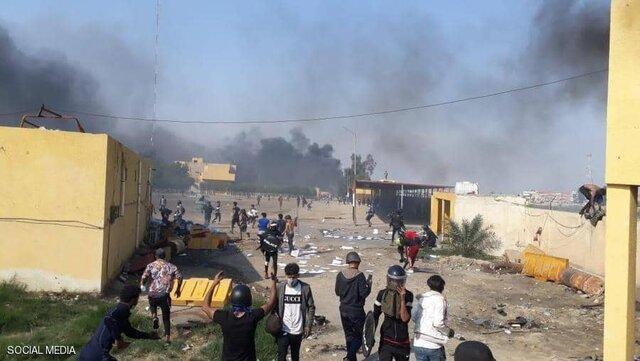 ممنوعیت آمد و شد در ناصریه عراق