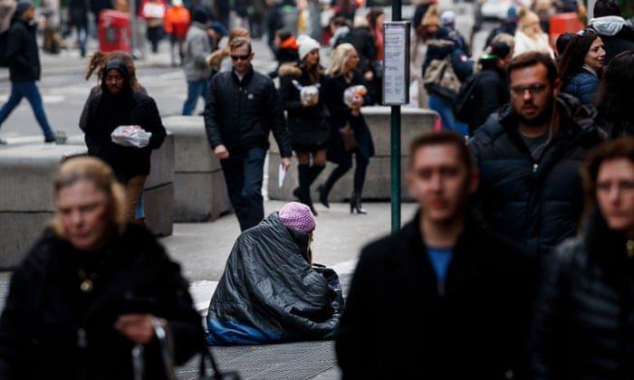 عددبازی با بی خانمانی در دنیا ، آمریکا 550 هزار بی خانمان دارد