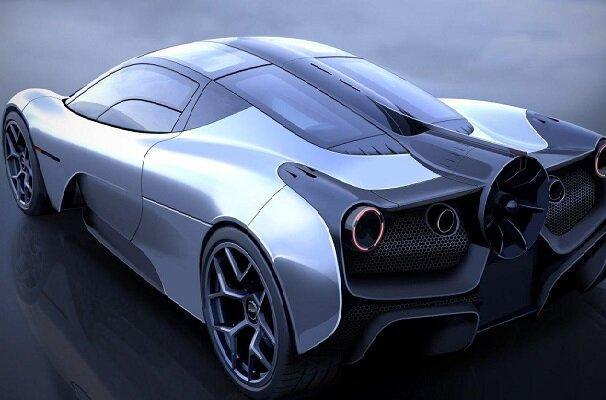 فراوری آیرودینامیک ترین خودروی جهان