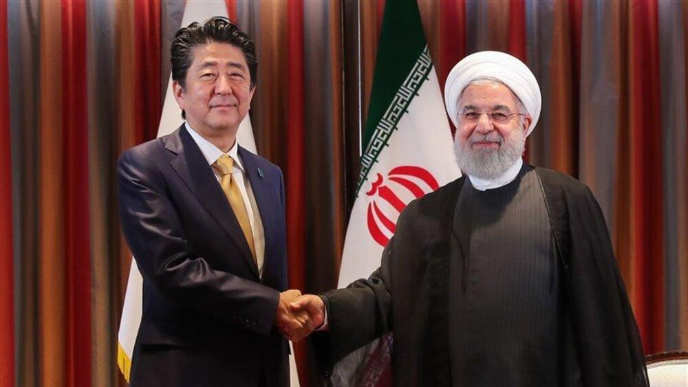خبرگزاری ژاپن از موضوع مهم گفت وگوی روحانی و آبه رونمایی کرد