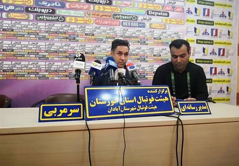 مربی فولاد خوزستان: بازی صنعت نفت - فولاد یکی از زیباترین بازی های لیگ بود، داوران باید بیشتر کار نمایند و کم اشتباه تر باشند