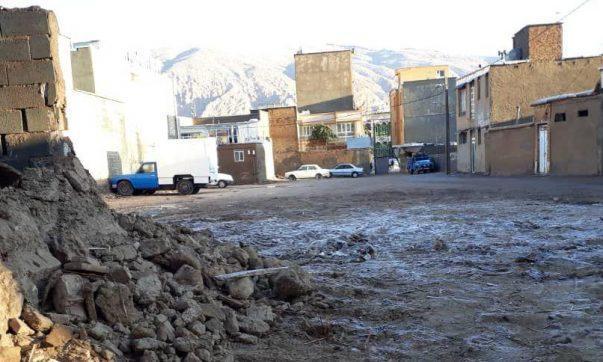 تخریب خانه قاجاری در بافت تاریخی استهبان