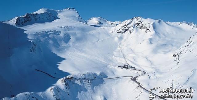 شکوه آلپ، سه پیست برتر اسکی در اتریش