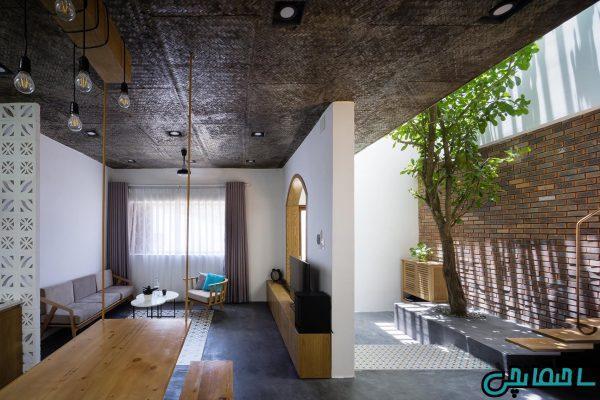 تصاویر طراحی خانه، برآمده از قلب طبیعت