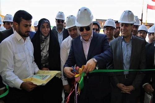 کمپرسور هوای ابزار دقیق ایران ساخت رونمایی شد ، کلنگ زنی واحد 20 هزار تنی فراوری کک سوزنی