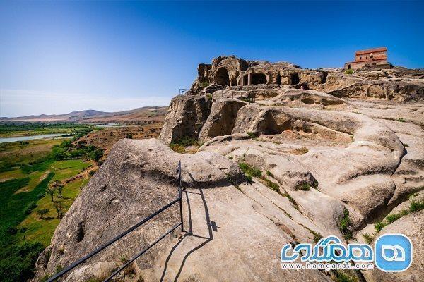 شهر اوپلیستسیخه؛ شهری سنگی و تاریخی در گرجستان