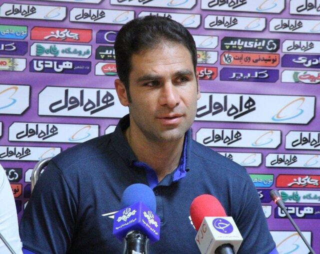 صادقی: باید یاد بگیریم جلوی تیم های بزرگ بازی کنیم، گل های دژاگه و حاج صفی تیم ما را بهم ریخت