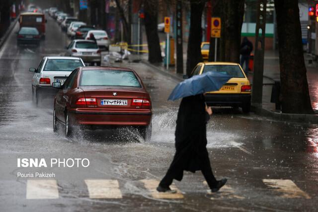 دو روز پرباران در انتظار قم، بارش شنبه ممکن است به سیلاب منجر شود