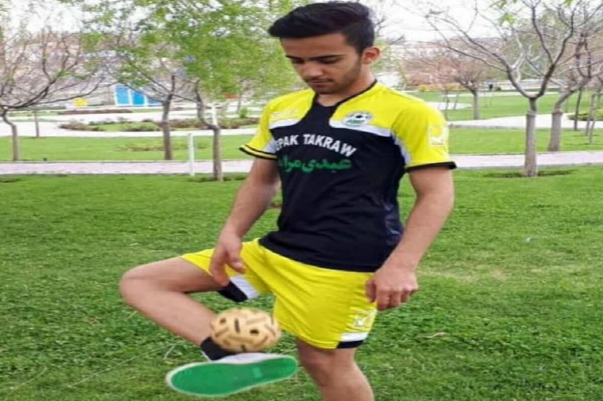 مقام سوم مسابقات آنلاین کشوری سپک تاکرا به ورزشکار مراغه ای رسید