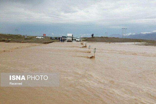 نبود تجهیزات مانع خدمات رسانی به روستاهای شهرستان کلات، راستا مشهد به کلات مسدود شد
