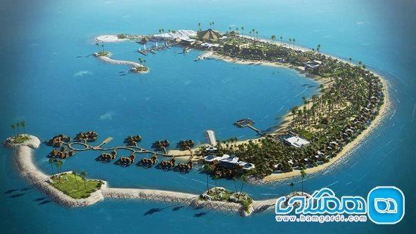 جزیره موز قطر؛ جزیره ای زیبا و تفریحی در حاشیه خلیج فارس