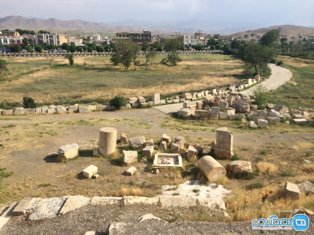 معبد آناهیتا کرمانشاه؛ بنایی تاریخی که بی مهری بسیاری دید
