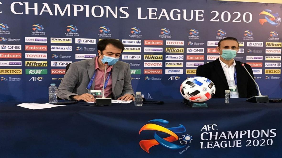 گل محمدی: به بازیکنانم افتخار می کنم، کار سختی مقابل النصر داریم
