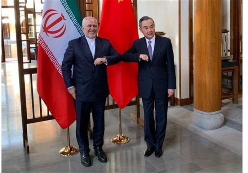 شروع رایزنی ظریف با وزیر خارجه چین