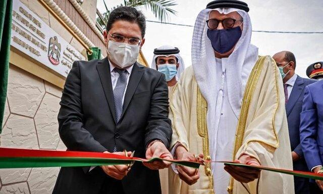 امارات کنسولگری خود را در صحرای غربی افتتاح کرد