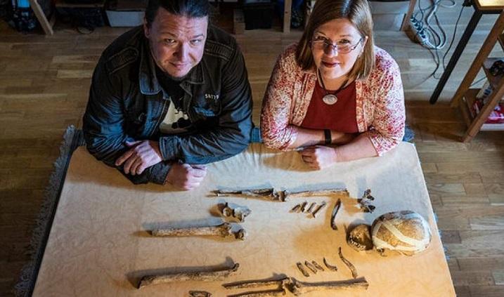 اسکلت یک زن ماقبل تاریخ در آلمان کشف شد