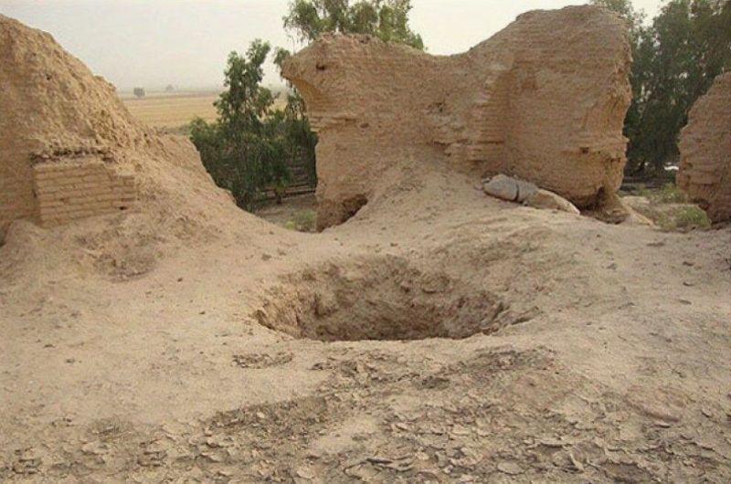 هشت حفار عتیقه در دامغان دستگیر شدند