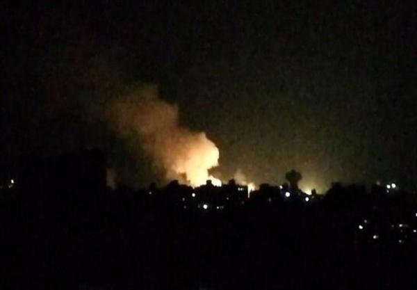 شنیده شدن صدای چند انفجار در جنوب سوریه