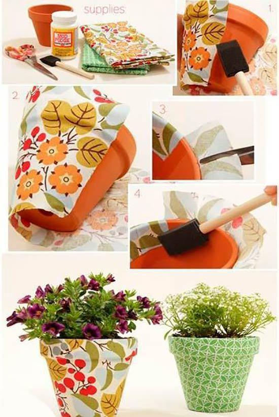 7 روش ساده برای ساخت گلدان تزیینی فانتزی
