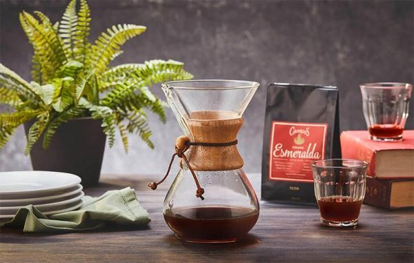 چطور با دم افزار کِمِکس دو لیوان قهوه عالی درست کنیم؟