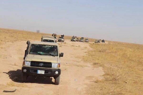 عملیات نیروهای حشد شعبی علیه بقایای تکفیری ها در دشت نینوا