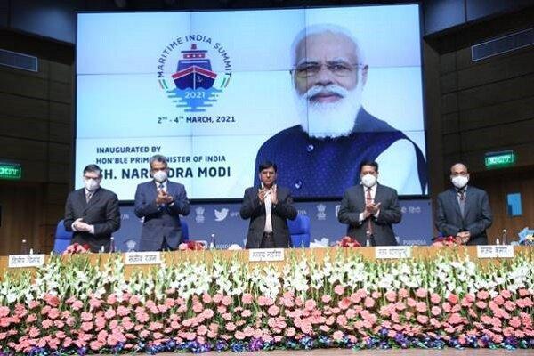 برگزاری اجلاس دریایی 2021 هند با موضوع روز چابهار