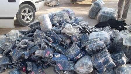 محکومیت 3 میلیاردی متهمین قاچاق پوشاک در یاسوج