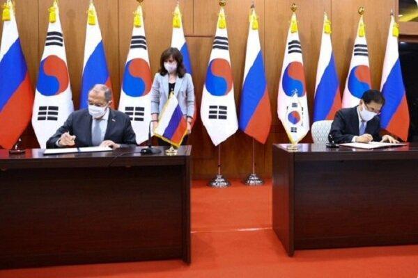 مسکو و سئول بر مذاکره برای حل مسائل شبه جزیره کُره تأکید کردند