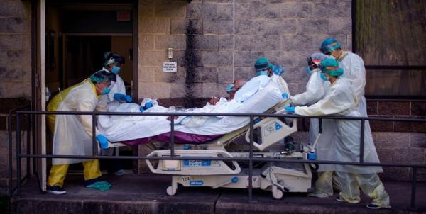جانز هاپکینز: تلفات کرونا در آمریکا به 563 هزار نفر رسید