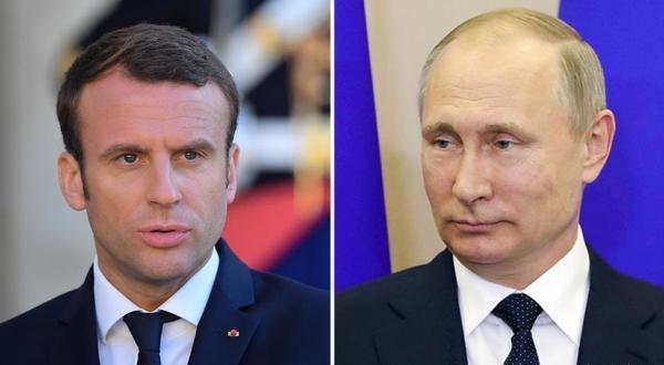 لحن شدید مکرون علیه روسیه