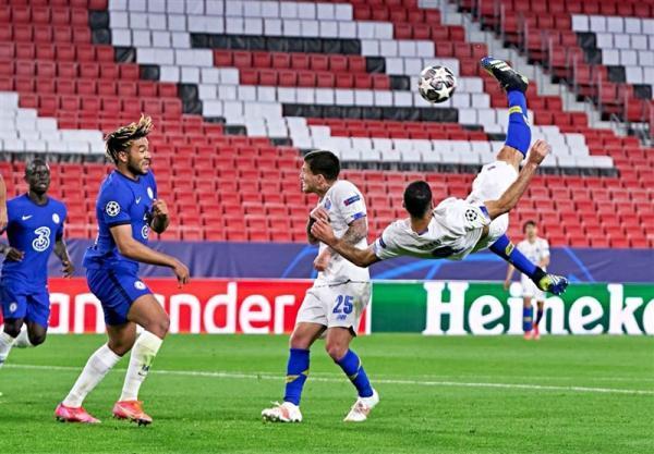 گل طارمی به چلسی، نامزد بهترین گل لیگ قهرمانان اروپا در فصل 21-2020