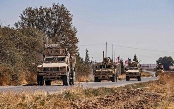 گشت زنی آمریکایی ها در مرز های عراق