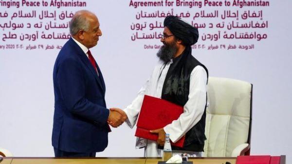پشت پرده توافق پنهانی آمریکا با طالبان در دوحه