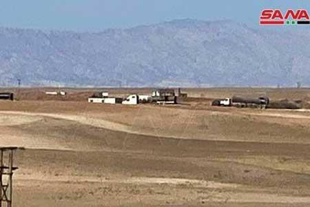 تدوام سرقت نفت سوریه از طریق اشغالگران آمریکایی