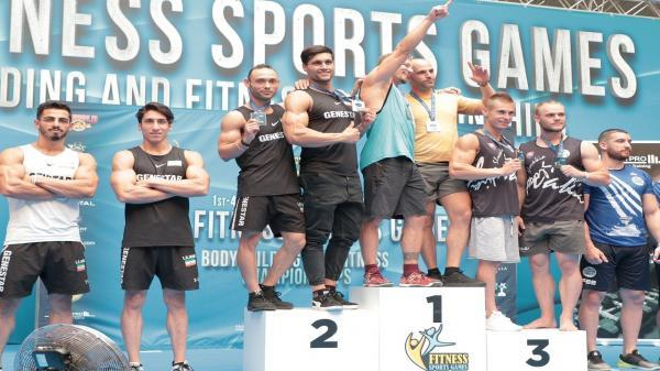 ادامه درخشش فیتنس چلنج ایران در اسپانیا ، تیم 2 نفره مهام و حسن نژاد نایب قهرمان دنیا شد