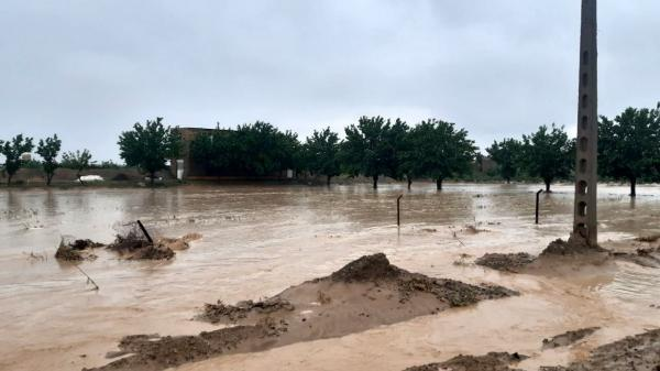 خسارت میلیاردی سیلاب در گناباد